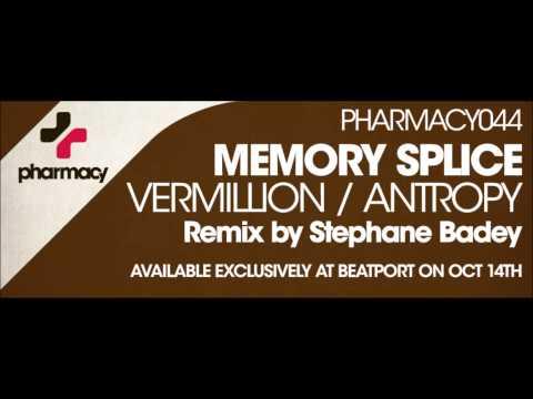 PHARMACY044 Memory Splice - Vermillion (Stéphane Badey Remix) Teaser