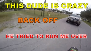 Motovlog II Crazy truck chase II Guy tries to run me over II Dirt Bike II GoPro Hero 4 II MV-6