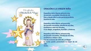 Virgen niña oracion