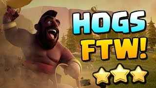 HOG your way to VICTORY | TH12 TH11 & TH10 Attack Strategy | Clash of Clans