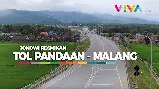 Ini Tampak Tol Pandaan - Malang yang Baru Jokowi Resmikan!