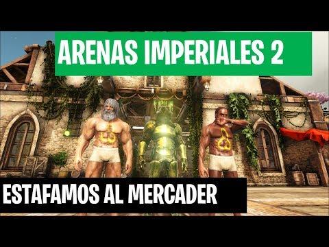 ESTAFAMOS AL MERCADER  #CAP 9 - ARK SURVIVAL - ARENAS IMPERIALES 2