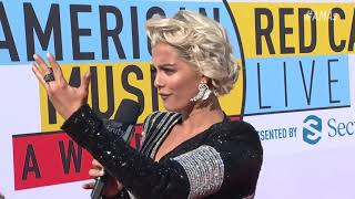 Bebe Rexha Red Carpet Interview - AMAs 2018