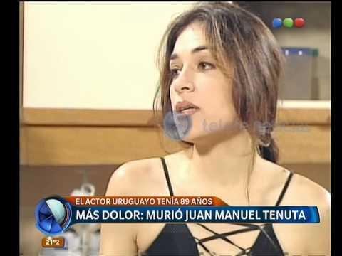 Murió  Juan Manuel Tenuta-  Telefe Noticias