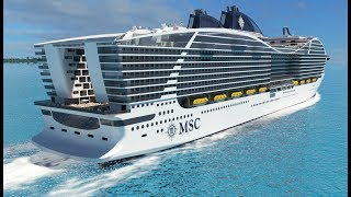 MSC Cruises' World Class Cruise Ships