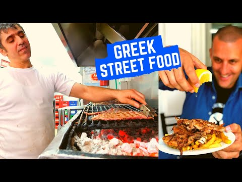 GREEK STREET FOOD TOUR | Best GYROS In Athens + Traditional Greek Steakhouse | ATHENS STREET FOOD