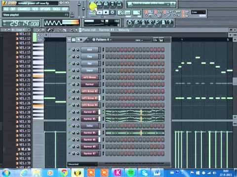 The Power Of Now  - Steve Aoki & Headhunterz fl studio remake