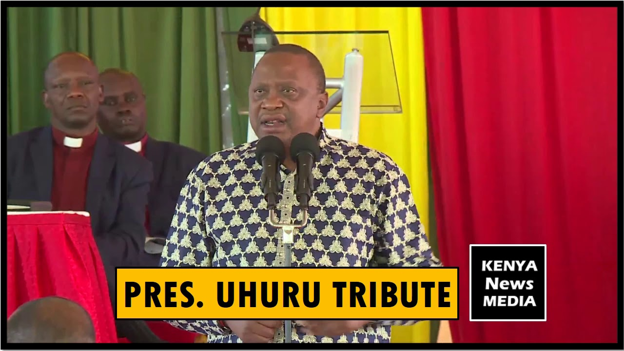 UHURU KENYATTA SPEECH AT JOYCE LABOSO FUNERAL MEMORIAL SERVICE
