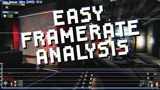 How to analyze console framerates - Easy Frame Rate Analysis with TearDrop (TrDrop Tutorial)