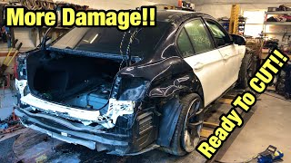 Rebuilding A Totaled Wrecked 2018 Bmw M3 From Copart Salvage Auction Ready For Framework