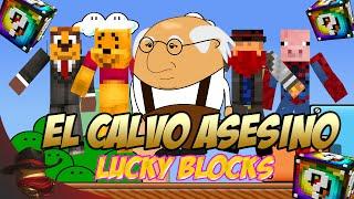 El Calvo Asesino | Carrera Lucky Blocks | Con Sara, Luh y Exo