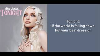 Alice Chater - Tonight (Lyric Video)