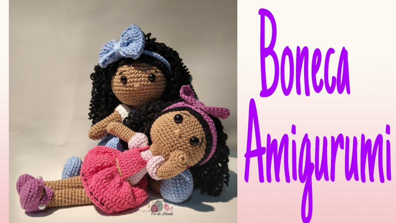Amigurumi Knitting 🌀 Amigurumi Doll Duda Course and Its Roupins ... | 720x1280