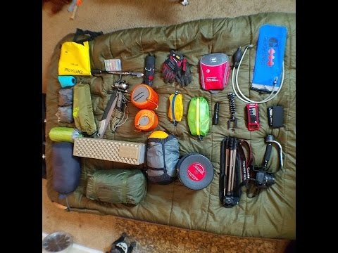 5 Day Backpacking Gear Loadout