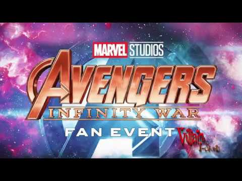 Avengers Infinity War United Kingdom Fan Event