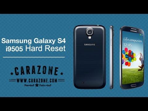Cara Hard reset Samsung Galaxy S4 I9505