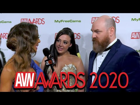 Whitney Wright & Ricky Greenwood: 2020 AVN Red Carpet Interview