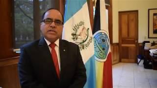Ministro de Educación, Dr. Oscar Hugo López agradece el apoyo de la UNESCO.