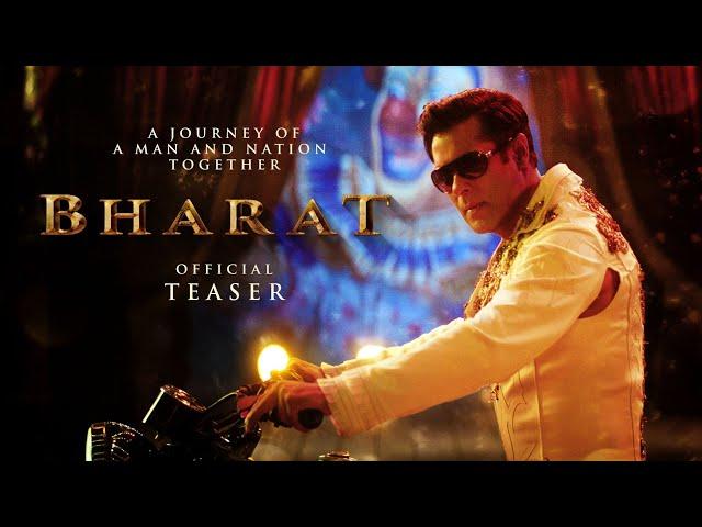 Salman Khan   BHARAT   Official Teaser   EID 2019