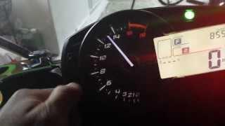 Dashboard: Kawasaki Ninja ZX6R 636 2013