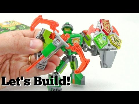 LEGO NEXO KNIGHTS: Battle Suit Aaron 70364 - Let's Build!