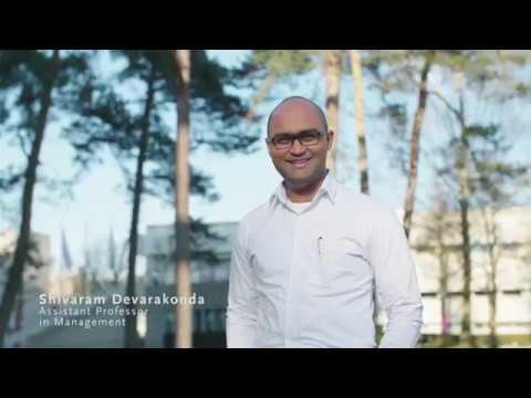 Shivaram Devarakonda about working at Tilburg University
