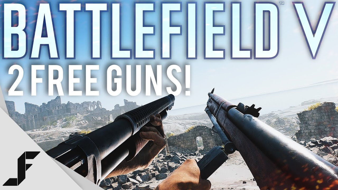 Battlefield 5 Gets Two Free Guns ( One of them is VERY powerful )