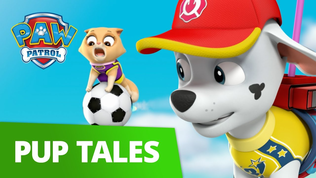 PAW Patrol | Pups Save The Soccer Game | Rescue Episode | PAW Patrol Official & Friends!