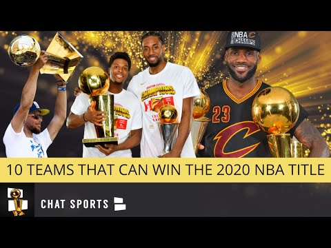 10 NBA Teams Most Likely To Win 2020 NBA Finals - Led By Lakers, 76ers, Warriors & Clippers