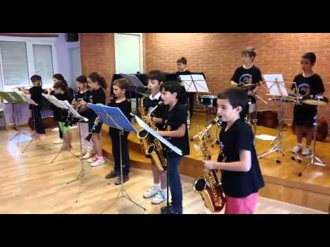 Escola Municipal de Música de Tarragona: Alumnes de 1r curs de Nivell Elemental
