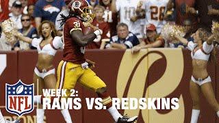 Rookie RB Matt Jones of Washington Scores on a 39-Yard TD Run | Rams vs. Redskins | NFL