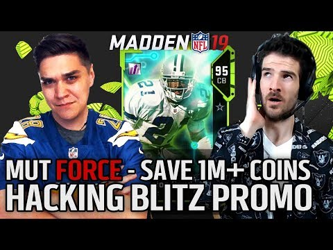 Hacking Blitz Promo Save 1M+ Coins!! | MUT Force with Director & Trumpetmonkey