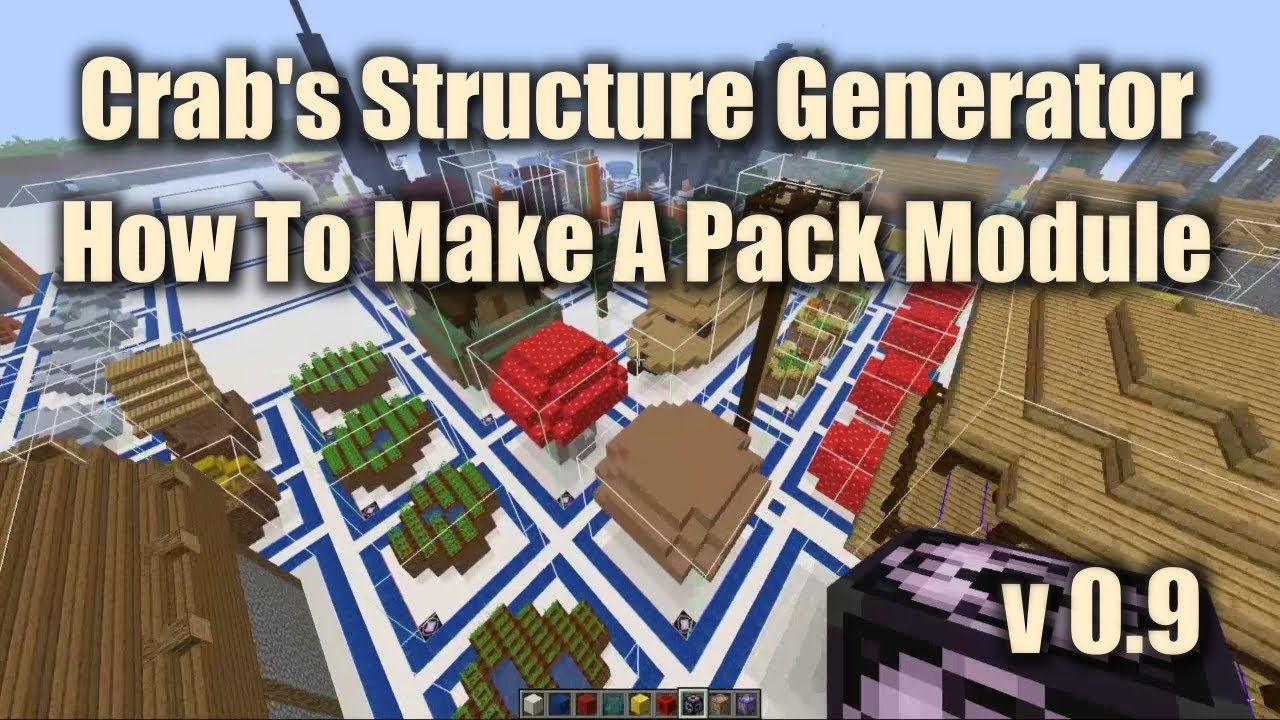 Crab S Structure Generator Add New Structures To Modern Minecraft With Modular Datapacks Minecraft Mods Mapping And Modding Java Edition Minecraft Forum Minecraft Forum