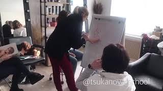 Обучение «Парикмахер колорист с нуля» Новосибирск TSUKANOVA SCHOOL