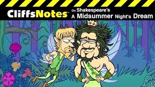 Shakespeare's A MIDSUMMER NIGHT'S DREAM | CliffsNotes Video Summary