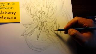 How to draw Doomsday from DC Comics with pencil