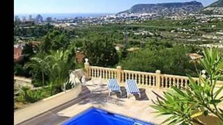 Calpe Costa Blanca Espagne - Villa de Vacances Espagne