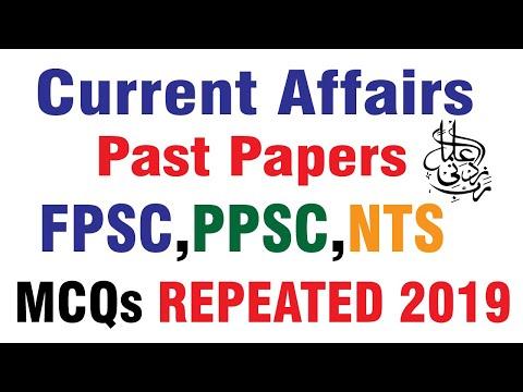 Current Affairs Solved MCQS
