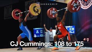 cj cummings 108 to 175