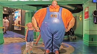 ВЛОГ Америка Родители Кривляются Николь САМЫЙ ТОЛСТЫЙ ЧЕЛОВЕК В МИРЕ playground Kids in real life