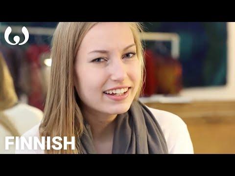 WIKITONGUES: Jenni speaking Finnish