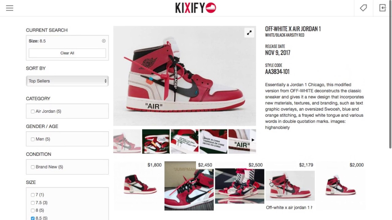 5c6a7a5150e7 OFF-WHITE X AIR JORDAN 1 purchase   Resell ALL IN ONE ! ! ! ! - YouTube