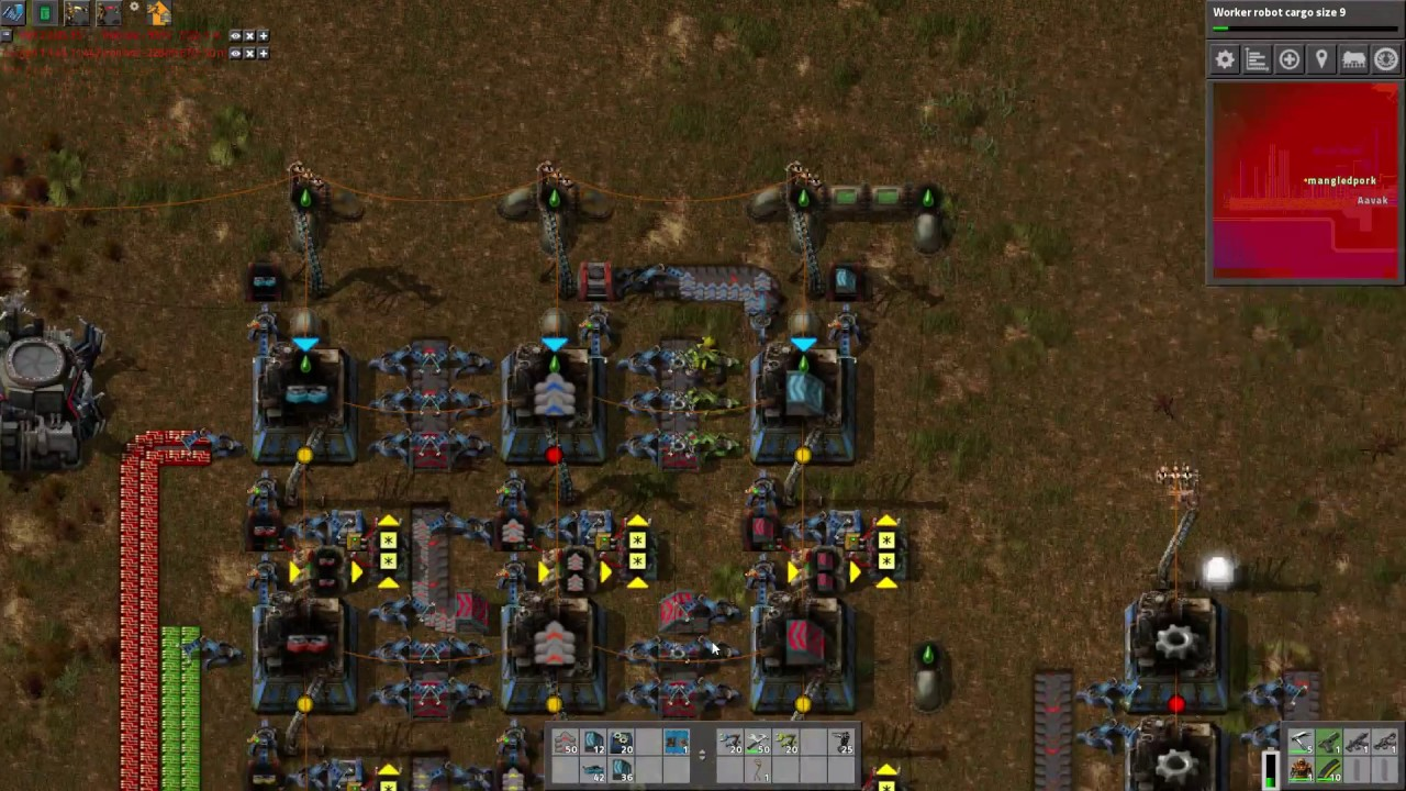 Factorio MASA Ep#49: A Billion Blue Belts Bussing From Beacons Beat Bots  For Boiler Usage