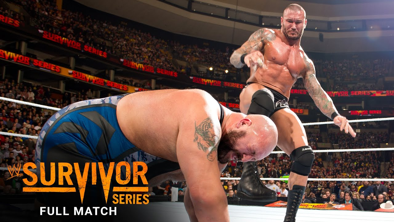 FULL MATCH - Randy Orton vs. Big Show - WWE Title Match: WWE Survivor Series 2013
