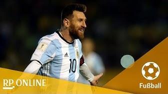 Drei Tore zum Glück: Lionel Messi schießt Argentinien zur WM 2018