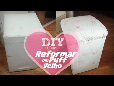 DIY Cómo tapizar un puff || Renovar silla || Renew ... | Doovi - photo#16