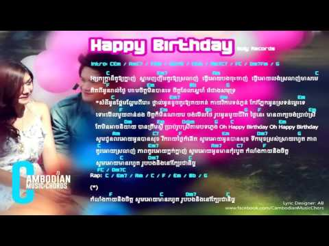 Happy Birthday Noly Time Khmer Guitar Chord Lyrics And Chord