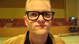 Dick Runesson intervjuas av Värnamo Nyheter