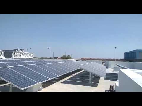 30kw Hybrid Power Plant Installation @ Hyderabad