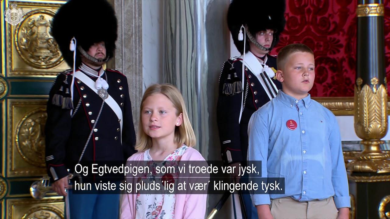 """Fællessang ved arrangementet """"Børn fra Danmarks kommuner fejrer H.M. Dronningen"""""""